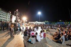 Ranong, Ταϊλάνδη - 3 Δεκεμβρίου 2013: Αντικυβερνητικός Στοκ Φωτογραφίες