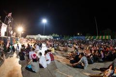 Ranong, Таиланд - 3-ье декабря 2013: Антипровительственный Стоковые Фото