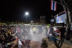 Ranong, Thailand - December 3, 2013 : Anti-government Stock Photo