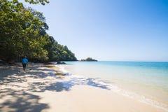 RANONG, THAILAND - JANUARY 12, 2015 : beautiful beach and peacef Stock Photo