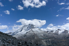 Ranrapalca в Андах Стоковая Фотография RF