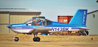 2009 RANS S-19LS royalty-vrije stock afbeelding
