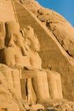 Ranses II e Nefertari Foto de Stock Royalty Free