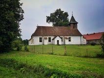 Старая церковь в Польше стоковое фото