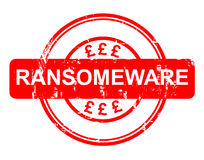 Ransomeware NHS Story Stock Image