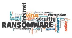 Ransomware病毒 皇族释放例证
