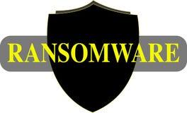Ransomware词概念性例证 免版税库存图片