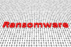 Ransomware Imagem de Stock Royalty Free
