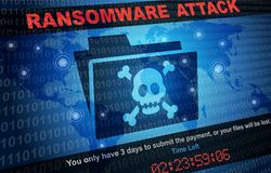 Ransomware attack malware hacker around the world background. Ransomware attack hacker around the world background Royalty Free Stock Photos
