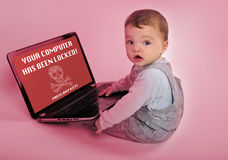 Ransomware problem Royalty Free Stock Photography