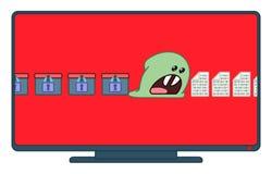 Ransomware-Virus, welches die Daten wünschen Sie verschlüsselt, zahlen Verbrecher, um zu entschlüsseln stock abbildung