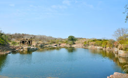 Ranthambhore fort ruins Royalty Free Stock Photo