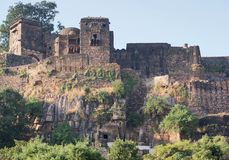 Ranthambore National Park. Scenery at the Ranthambore National Park in Rajasthan, India stock image