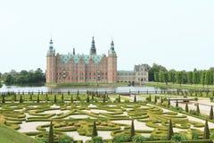 Ranura de Frederiksborg en Dinamarca Foto de archivo