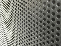 Ranura negra de la circulación de aire del metal en chasis del servidor Foto de archivo libre de regalías