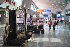 Ranuras del aeropuerto de Vegas Fotografía de archivo libre de regalías
