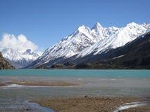 Ranwu Lake snow mountain Stock Photos