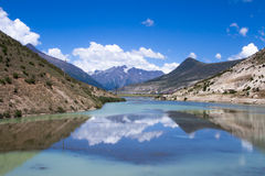 Ranwu Lake Royalty Free Stock Photos
