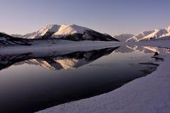 Ranwu lake in Tibet Snow mountain Stock Photo