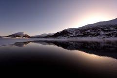 Ranwu lake in Tibet Snow mountain Royalty Free Stock Photo