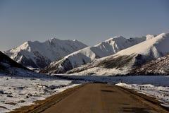 Ranwu road in Tibet Snow mountain Stock Photography