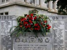 Różany Czerwony pomnik Zdjęcia Stock