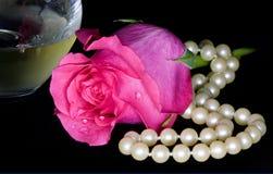 różany wino Obraz Royalty Free