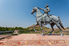 Rao Jodha statue Stock Photo