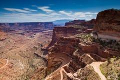 Raod into Canyonlands Stock Photography