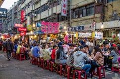 Raohe Street Night Market Royalty Free Stock Photography