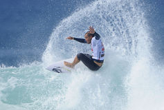 Raoni Monteiro surfing Stock Photo