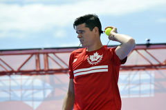 Raonic Milos CAN at US Open (4) Stock Photography