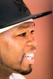 Rap artist 50 Cent Royalty Free Stock Photos