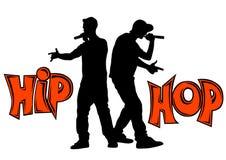 Rap bitwa cztery ilustracji