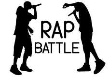 Rap bitwa jeden ilustracja wektor