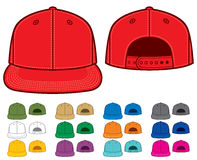 Rap cap. Front and back view Stock Photo