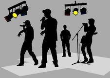 Rap concert Stock Photography