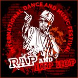 Rap hip hop graffiti - vector poster Stock Photos