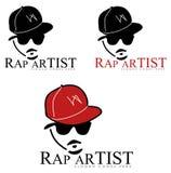 Rap-Künstlers-Zeichen Stockbilder