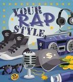 Rap Music Concept Stock Photo