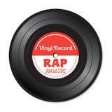 Rap-Musik-Vinylaufzeichnung Stockfotos
