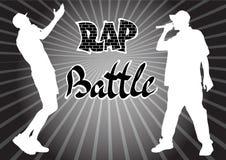 Rap piosenkarz cztery ilustracja wektor
