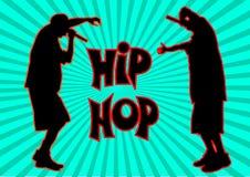 Rap piosenkarz pięć ilustracja wektor