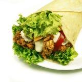 Rap sandwich stock image