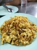 Rapa ed uovo salati fritti Immagine Stock Libera da Diritti