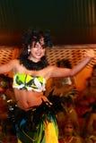 Rapa Nui dansare Arkivfoto