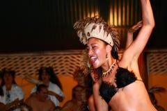 Rapa Nui dansare Arkivbilder