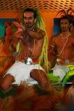 Rapa Nui dansare Royaltyfria Bilder