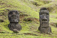 Rapa Nui National Park royalty free stock photo
