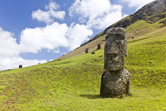Rapa Nui nationalpark Royaltyfria Bilder